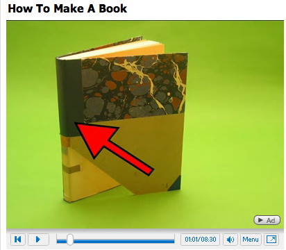 Baumgartner: Bookbinding (Video)
